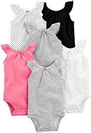 Simple Joys by Carter's Baby Girls' 6-Pack Sleeveless