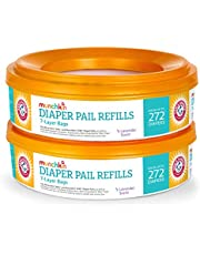 Munchkin Arm and Hammer Diaper Pail Refill Rings, 544ct