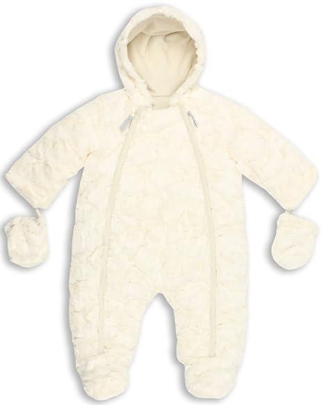 6b3332ce4 The Essential One - Trajes de Nieve Abrigo lujo de piel para bebé - 12-