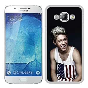 niall horan White Special Custom Picture Design Samsung Galaxy A8 Phone Case