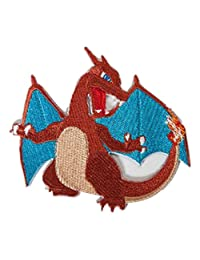 """Pokemon Go Charizard Embroidered Sew/Iron-on 3.75"""" X3.75"""" InspireMe Family Owned"""