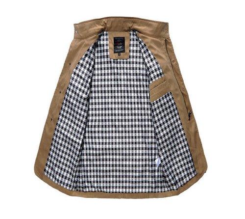 Wantdo Plus Men Cotton Stitching Cotton Jacket Coat 1271