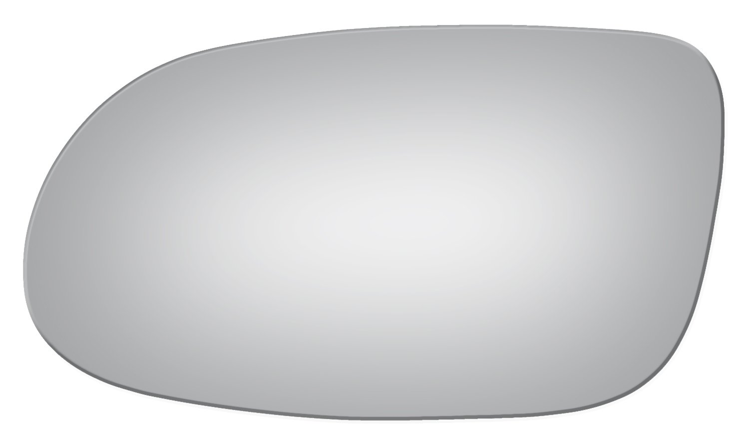 Burco 2873 Redi Cut Left Driver Side Replacement Mirror Glass for 1998-2009 Mercedes-Benz CLK Series & 1999-2004 SLK Series