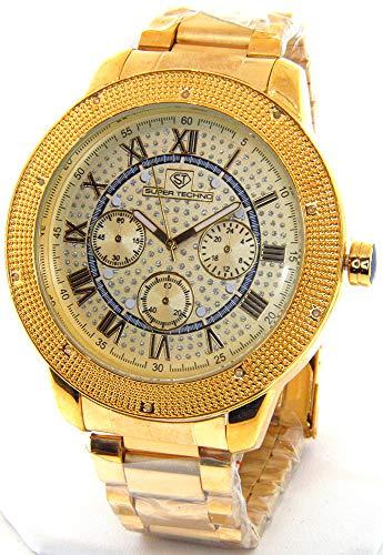 gold super techno watches - 9