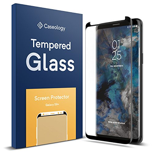 Galaxy S9 Plus Screen Protector, Caseology [Tempered Glass – Case Friendly] Variation