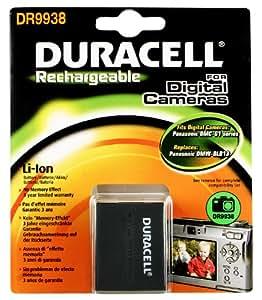 Duracell Digital Camera Battery 7.4v 1050mAh - Batería/Pila recargable (1050 mAh, Cámara digital, Ión de litio, 3.6 cm, 2.2 cm, 4.4 cm) Negro