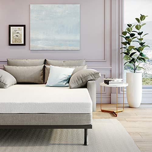 Classic Brands Memory Foam Replacement Sofa Bed 4.5-Inch Mattress, Queen