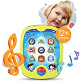 """Boxiki kids Smart Pad for Babies and Children Learning Educational Toddler Tablet Toy for Infants with Kids' Learning Games. Learn Numbers, ABC Learning, """"Can You Find?"""" Game, Music"""