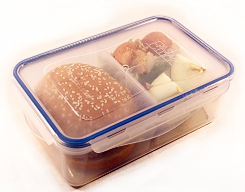 Container Configurable 3 compartments Leakproof Lunchbox product image
