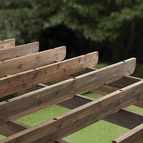 Backyard Discovery 1906525 Silverton Wooden Pergola