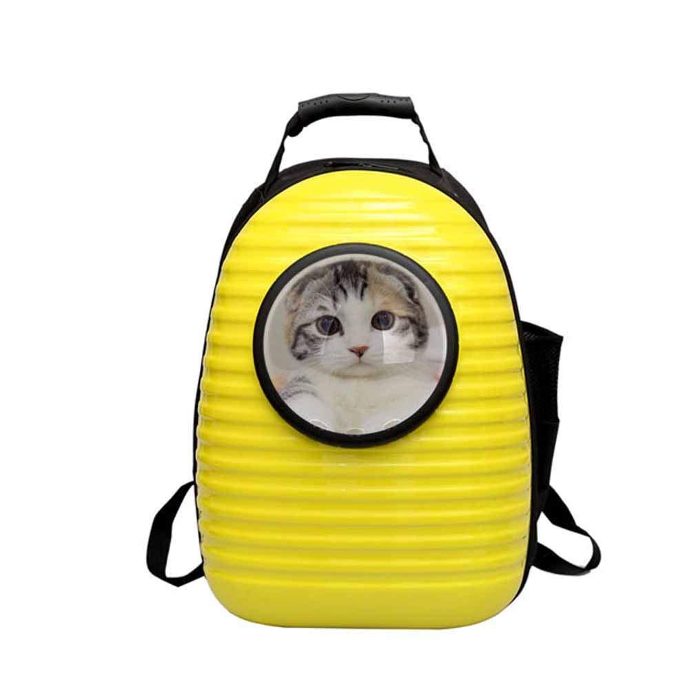 ACLBB Zaino per Capsula Spaziale per Animali Domestici, Zaino da Viaggio Traspirante, Gatto e Cucciolo