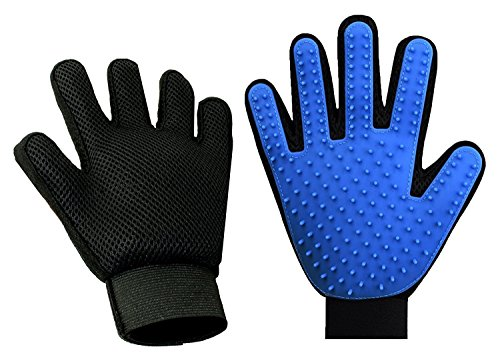 Shed No More (Premium Version) Grooming Glove - Soft & Gentle Deshedding Brush Glove - Efficient Pet Fur Remover Mitt - Enhanced Glove Design - Works Best for Dogs & Cats with Long & Short Fur by Shed No More (Image #2)