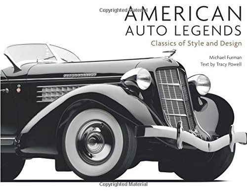 American Auto Legends: Classics of Style and Design (Classic American Designs)