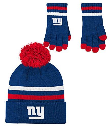 kids giants football gloves - 2