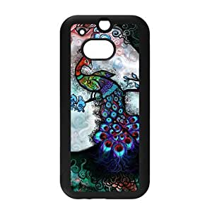 diy zhengCute Peacock Bird painting Printed Snap on Hard Plastic Back Case Cover for Personalized Case for iphone 5c Case-Perfect as Christmas gift(4)