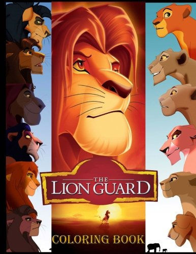 Read Online The Lion Guard coloring book: Great coloring pages for kids (ages 4-9) pdf