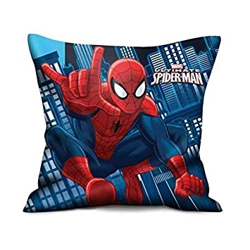Spiderman Kissen (2 Motive) [35x35 cm] [Import allemand ...