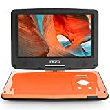 "BOIFUN 12.5"" Portable DVD Player with 5 Hours Rechargeable Battery, 10.5"" HD Swivel"