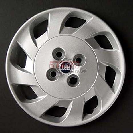 Juego de 4 tapacubos para el FIAT PUNTO EFF54 3P. IIa Series 1999 14 cm de diámetro: Amazon.es: Juguetes y juegos