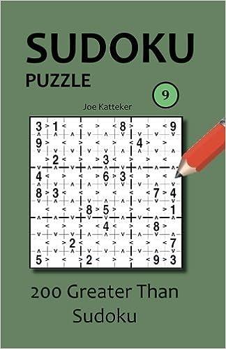 Scarica libri di Google Libri Sudoku Puzzle 9: 200 Greater