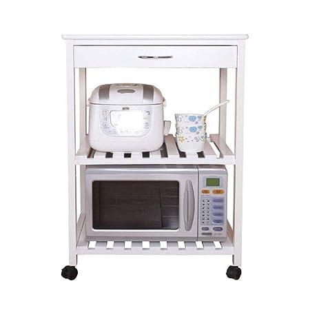 RMJAI Estantería de Cocina 3 Capas Horno de microondas Rack ...