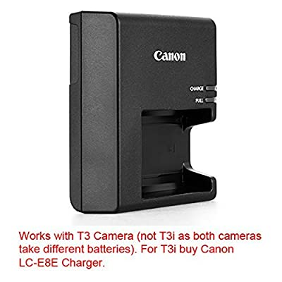 LC-E10 Battery charger for Canon LP-E10 Battery and Canon EOS 1100D, EOS Rebel T3, EOS Kiss X50