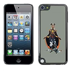 iKiki Tech / Estuche rígido - Emperador del Mal - Apple iPod Touch 5