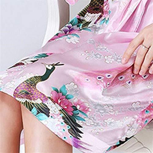 Magníficas Albornoz L Home Las De Pijamas Camisón Mujeres Del Sleepwear CFUqw1xOx