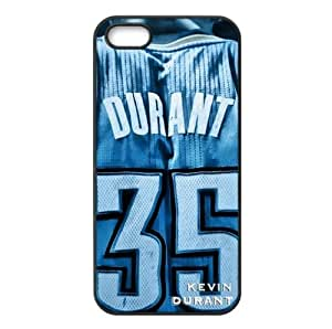 Oklahoma City Thunder Kevin Durant Image Design Apple iPhone 5/5s TPU Case-by Allthingsbasketball