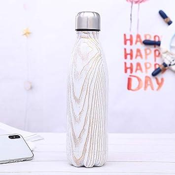 LOHOX Doble Pared Botella De Agua Acero Inoxidable 500 ml de ...