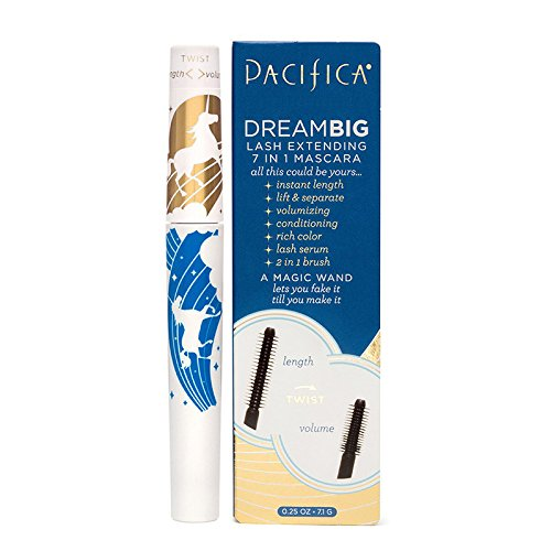 Pacifica Beauty Dream Big Lash Extending 7 in 1 Mascara Black Magic (All Natural Mascara)