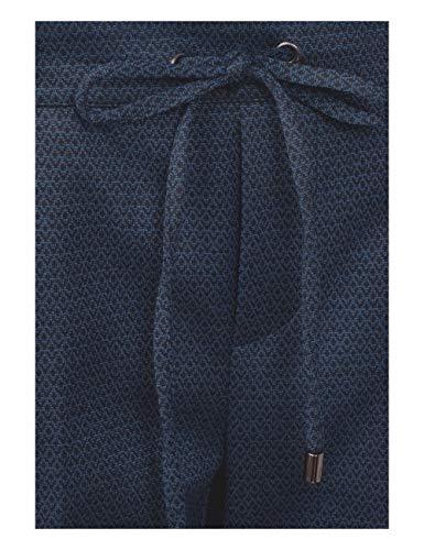 20128 Pantaloni Blue deep Mehrfarbig Donna Cecil dwXxB0Zq0