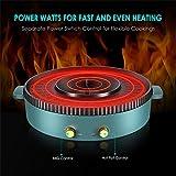 SEAAN Electric Grill Hot Pot Smokeless Indoor