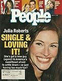 Julia Roberts, Brandy, LeAnn Rimes and Dean Sheremet, Sarah Hughes - March 11, 2002 People Weekly Magazine