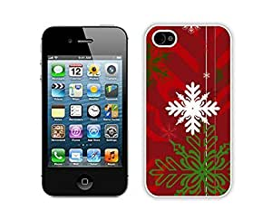 Custom-ized Diy For Iphone 4/4s Case Cover Protective Skin Case Merry Christmas White Diy For Iphone 4/4s Case Cover Case 83