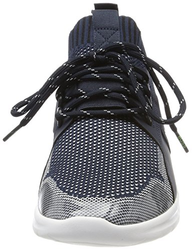 Boss Green Extreme Runn Knit Heren Sneakers Blauw