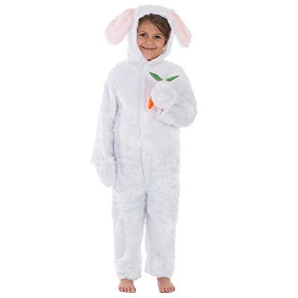 a81a0860cd83 Charlie Crow White Rabbit Costume for Kids 3-5 Years  Charlie Crow   Amazon.co.uk  Toys   Games