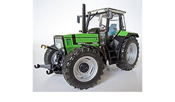 Weise-Toys Deutz-FAHR AgroStar DX 6.31 (1990-1993) Turbo Tractor: Amazon.es: Juguetes y juegos
