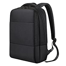 Business Laptop Backpacks REYLEO Water Resistant Rucksack Daypack Fits up to 14 inch Notebook for Office Work Travel School(Black)