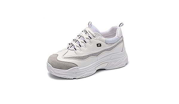 Amazon.com: HuWang Women Sneakers White Black Pink Flat Platform Womens Casual Shoes Ladies Basket Femme Trainers Zapatillas Mujer: Garden & Outdoor