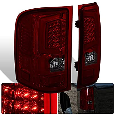 AJP Distributors New Generation Replacement LED C-Streak Tail Lights For Chevy Silverado 2007 2008 2009 2010 2011 2012 2013 07 08 09 10 11 12 13: Automotive