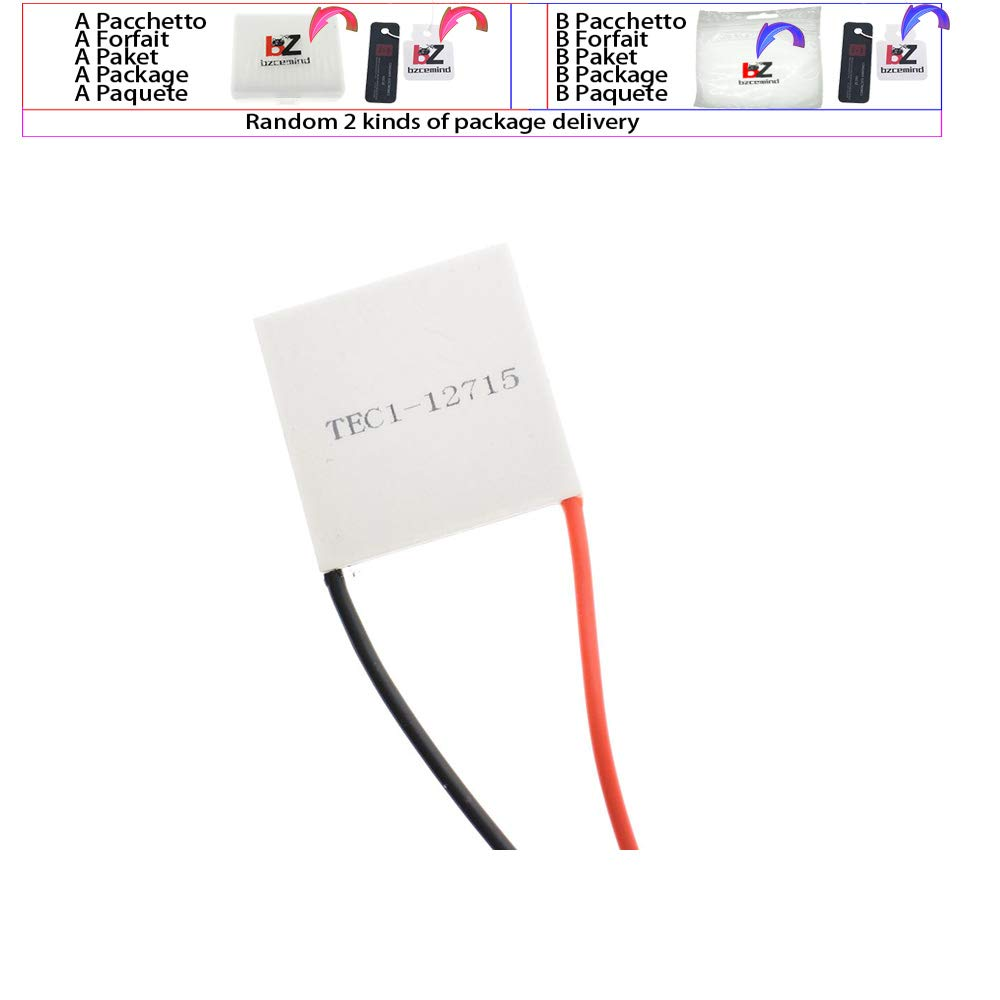 TEC1-12715 PZZ Thermo/électrique Refroidisseur Peltier TZT TEC1 12715 12715 136.8W 12V-15.4V 15A TEC