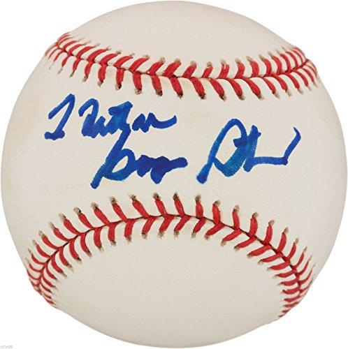 Babe Ruth Vintage Baseball Glove - GEORGE STEINBRENNER SIGNED VINTAGE ROALB BASEBALL NEW YORK YANKEES OWNER NY BALL