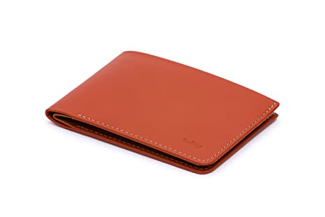 209911a2c5 Bellroy Low Down Tamarillo, slim leather wallet (Max. 8 cards and bills)