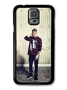 Justin Bieber Red Jumper Beliebers JB Popstar case for Samsung Galaxy S5 A5134