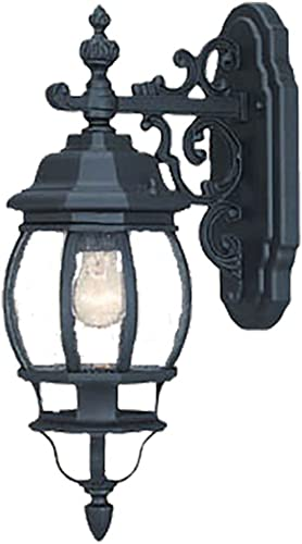 Acclaim 5155BK Chateau Collection 1-Light Wall Mount Outdoor Light Fixture