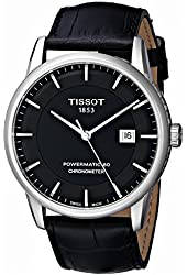 Tissot Men's T0864081605100 Luxury Analog Display Swiss Automatic Black Watch