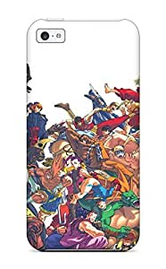 Durable Protector Case Cover With Street Fighter Hot Design For Iphone 5c