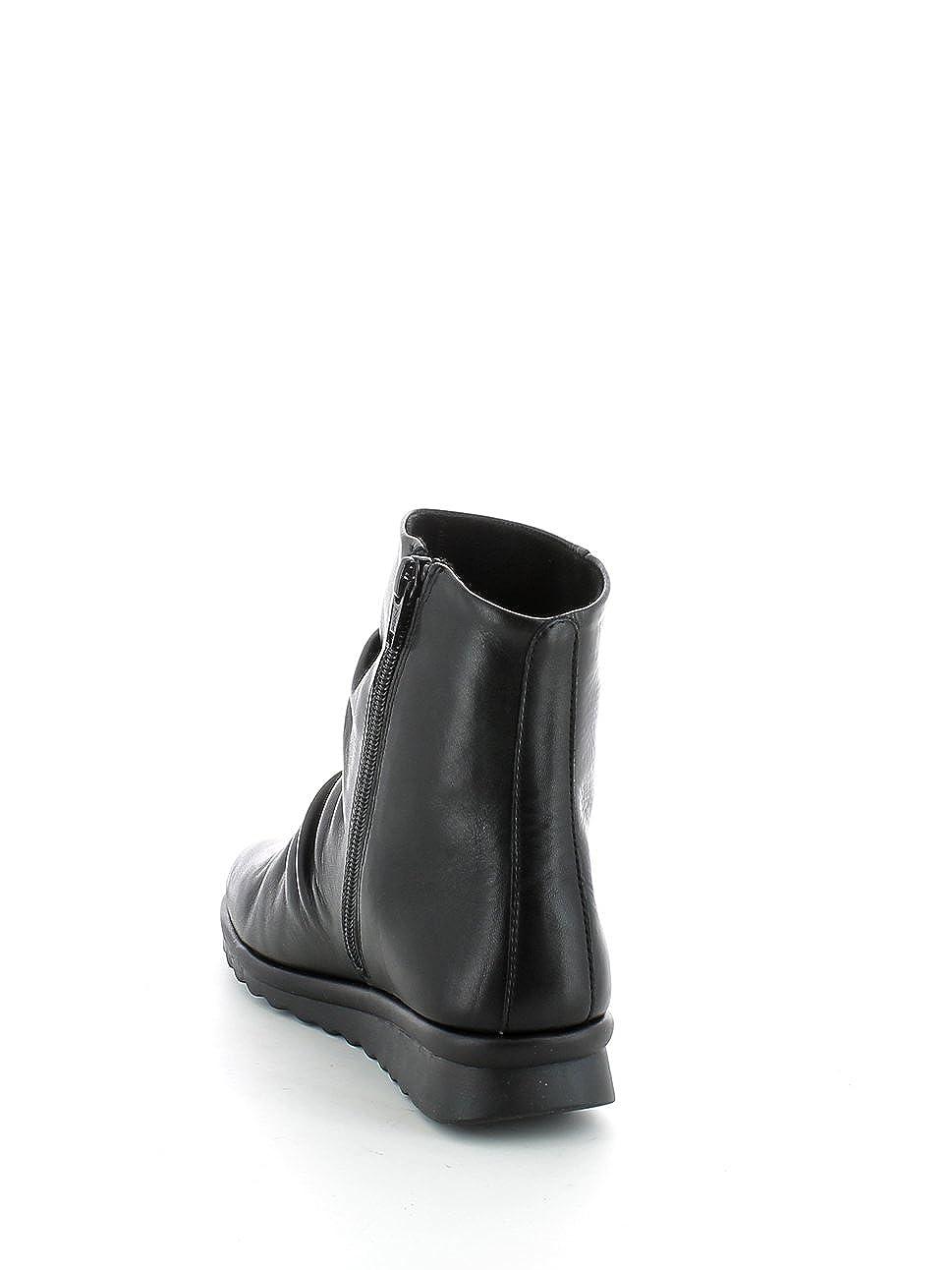 le flexx bottes pour dames Noir nero, nero, nero, noir