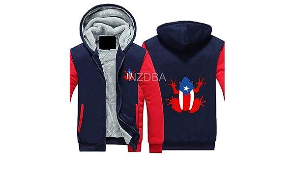 Boys Puerto Rico PR Coqui 1 Full Zip Hooded Sweatshirt Jacket